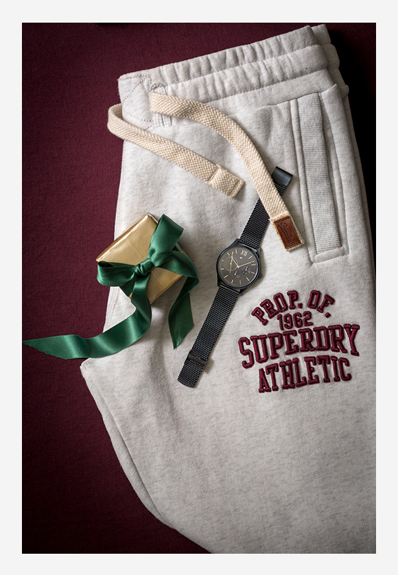 SUPERDRY collegehousut 79,90€