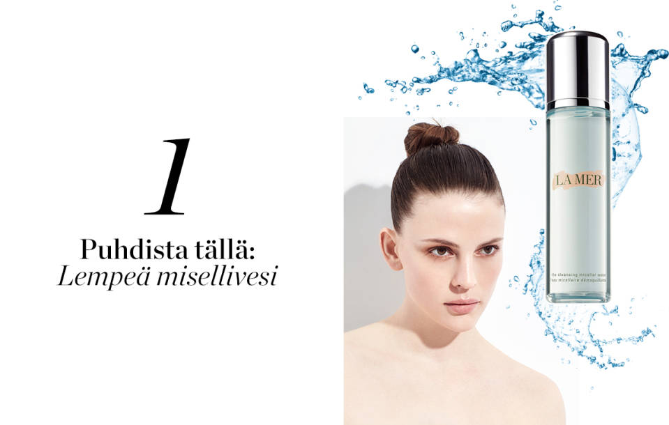 La Mer Cleansing Micellar Water kasvovesi 200ml 85€.